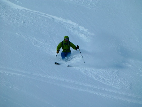 Good pow on the south faces round Chamonix this winter!